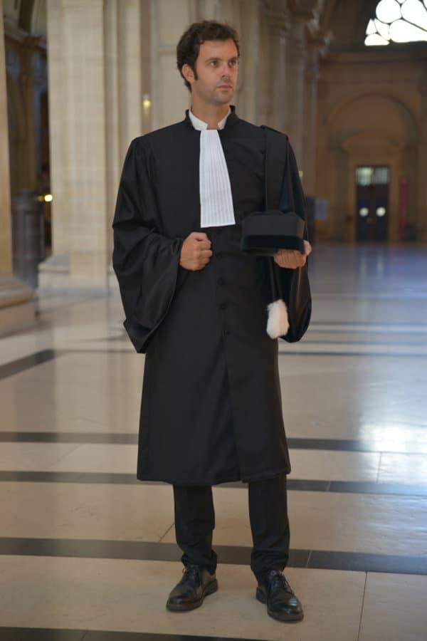 La robe d'avocat La Microfibre