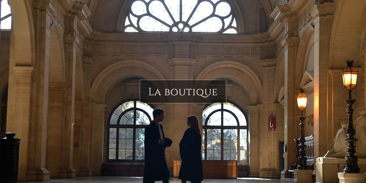 Découvrir notre boutique, nos robes d'avocats et accessoires 2